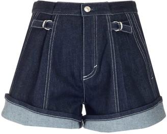 Chloé Panelled Wide-Leg Shorts