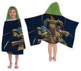 Teenage Mutant Ninja Turtles Dark Ninja Cape-Style Hooded Towel