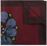 Paul Smith rabbit print pocket square - men - Silk - One Size
