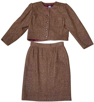 Ungaro Burgundy Wool Jackets
