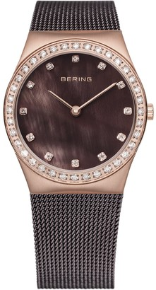 Bering Time Women's Analogue Quartz Stainless Steel Coated 12426262