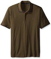 Sean John Men's Big & Tall Short-Sleeve Solid Core Polo Shirt