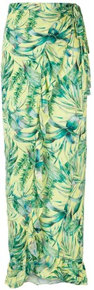 BRIGITTE Helen printed skirt