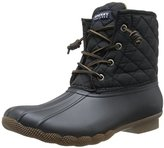 Sperry Women's Saltwater Quilted Nylon Rain Boot