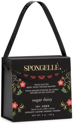 Butter Shoes Spongelle Limited Edition Sugar Daisy Triple Body Wash Infused Buffer