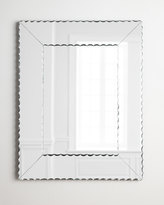 Neiman Marcus Scallops Small Mirror