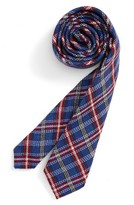 Nordstrom Boy's Plaid Wool & Silk Tie