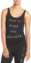 Junk Food Clothing Women's 'Don'T Wake The Dreamer' Graphic Tank