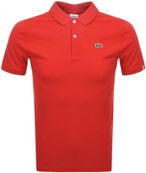Lacoste Live Ultra Slim Polo T Shirt Red