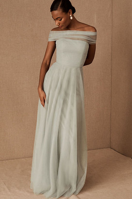Jenny Yoo Ryder Convertible Dress By in Green Size 4