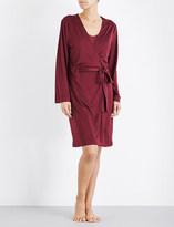Hanro Elonora jersey robe