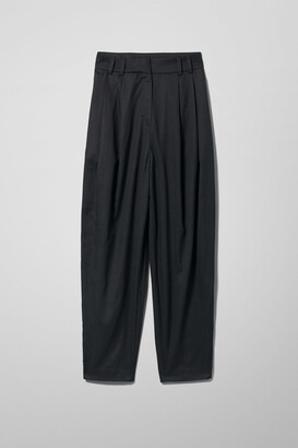 Weekday Rosella Trousers - Black