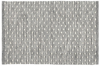 Dash & Albert Hobnail Indoor/Outdoor Rug - Gray 5'x8'