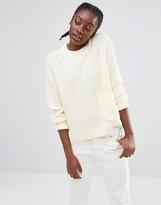 Monki Pocket Detail Knitted Sweater
