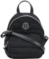 Moncler small panelled backpack - women - Leather/Polyester - One Size