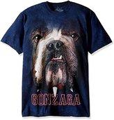 The Mountain Men's Gonzaga U Big Face Spike Adult T-Shirt