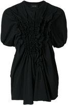 Simone Rocha frill detail blouse - women - Cotton - XS
