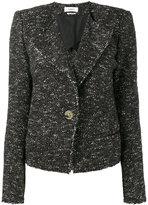 Etoile Isabel Marant tweed jacket - women - Cotton/Polyester/Alpaca/other fibers - 36