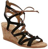 Dolce Vita Women's Lynnie Ghillie Lace Wedge Sandal