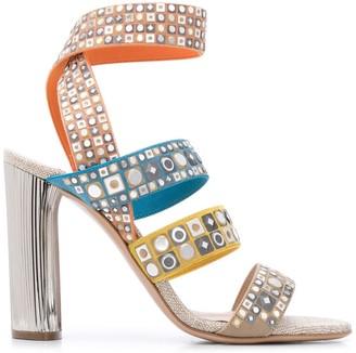 Casadei Chunky Heel Sandals