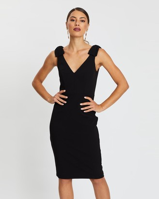 Montique Willow Stretch Crepe Dress