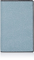 Valextra Men's Folding Card Case-LIGHT BLUE