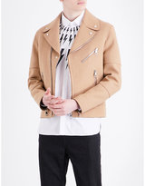 Neil Barrett Biker double-faced wool-blend jacket