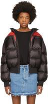 Marcelo Burlon County of Milan Black Down Poketi Jacket