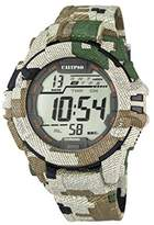 Calypso Men's Digital Watch with LCD Dial Digital Display and Multicolour Plastic Strap K5681/3