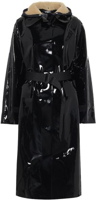 Kassl Editions Coated cotton coat