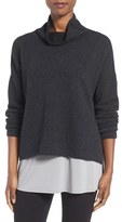 Eileen Fisher Women's Recycled Cashmere & Lambswool Sweater