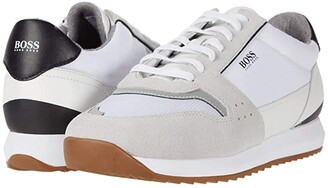 HUGO BOSS Sonic Low Top Sneaker by BOSS (White) Men's Shoes