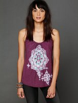 Free People Floral Graphic Cami