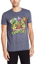 Nickelodeon Teenage Mutant Ninja Turtles Men's Group T-Shirt