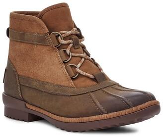 UGG Greda Waterproof Leather & Suede Duck Boot