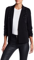 Romeo & Juliet Couture Open Front Lace-Up Jacket