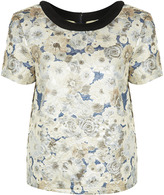 Premium Quilted Floral Tee