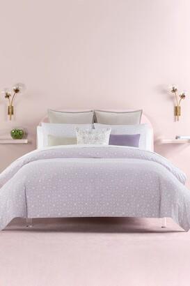 Kate Spade Lavender Breeze Blocks Full/Queen Comforter 3-Piece Set