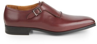 Sutor Mantellassi Medicea Leather Monk Strap-Shoes