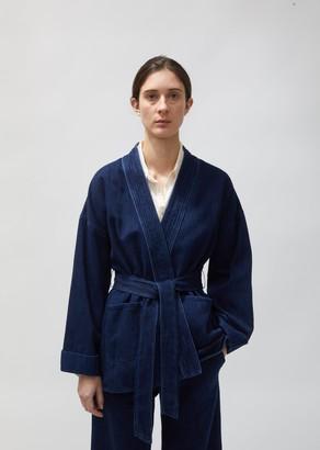 Forte Forte Calvary Cotton Denim Kimono Jacket