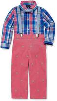 Izod Boys 3-pc. Long Sleeve Pant Set-Baby