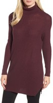 Halogen Petite Women's Turtleneck Tunic Sweater