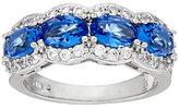 The Elizabeth Taylor Simulated Gemstone Band Ring