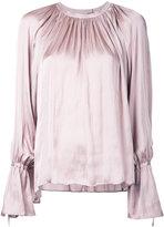CITYSHOP gathered neck blouse - women - Polyester - One Size