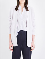 Vince Waffle stitch wool and cashmere-blend cardigan