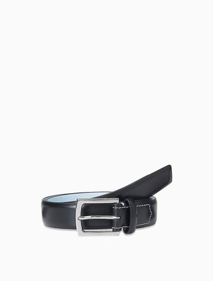 Calvin Klein Shiny Leather Dress Belt