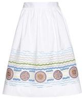 Peter Pilotto Iris embroidered skirt