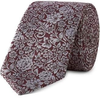 Topman Floral Tie Handkerchief Set