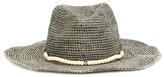 Hat Attack Embellished Raffia Hat