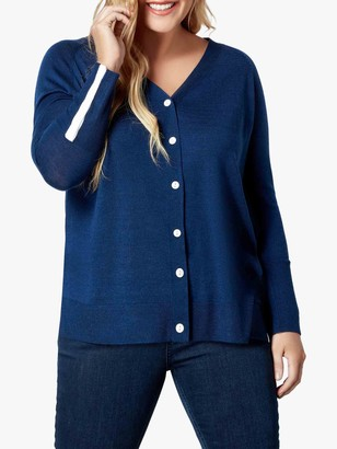 Live Unlimited Curve Button Down Cardigan